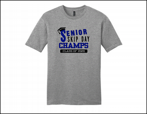 Senior Skip Shirt Grey/Blue
