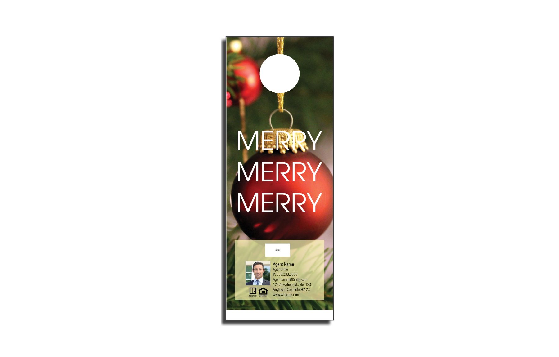 Plumb Marketing Doorhanger - Christmas 03 - 1710