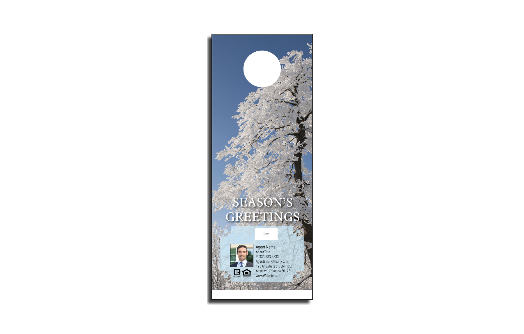 Plumb Marketing Doorhanger - Christmas 05 - 1710