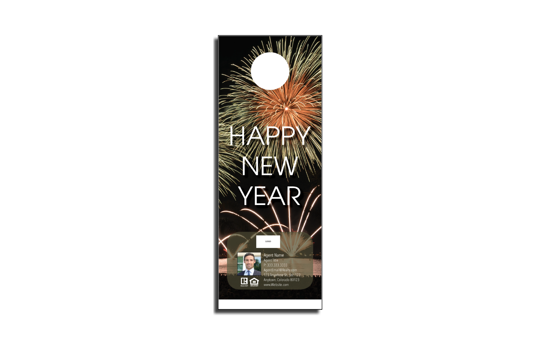 Plumb Marketing Doorhanger - New Years 02 - 1710