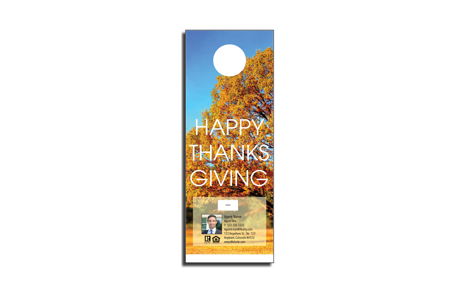 Plumb Marketing Doorhanger - Thanksgiving 01 - 1710