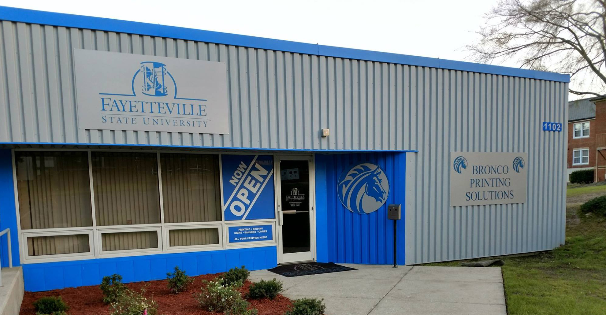 Fayetteville State University Bronco Printing Solutions