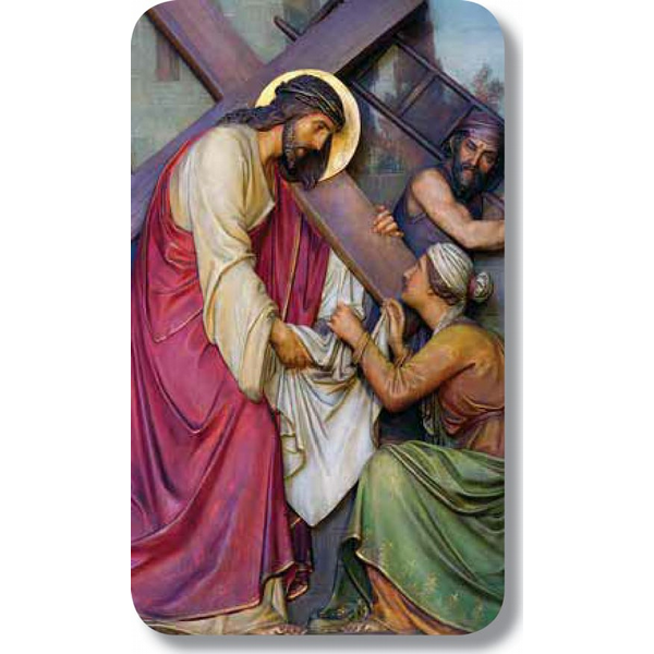 "Jesus Carrying Cross 22.5"" x 4.25"""