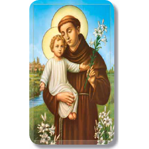 "St. Anthony 2.5"" x 4.25"""