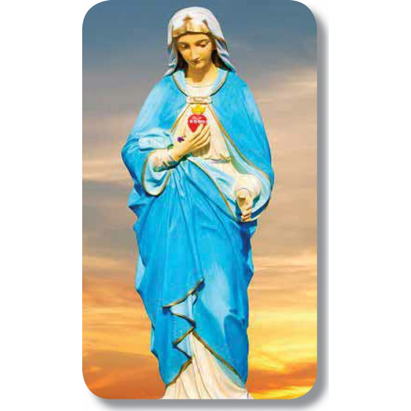"Virgin Mary Sky 22.5"" x 4.25"""