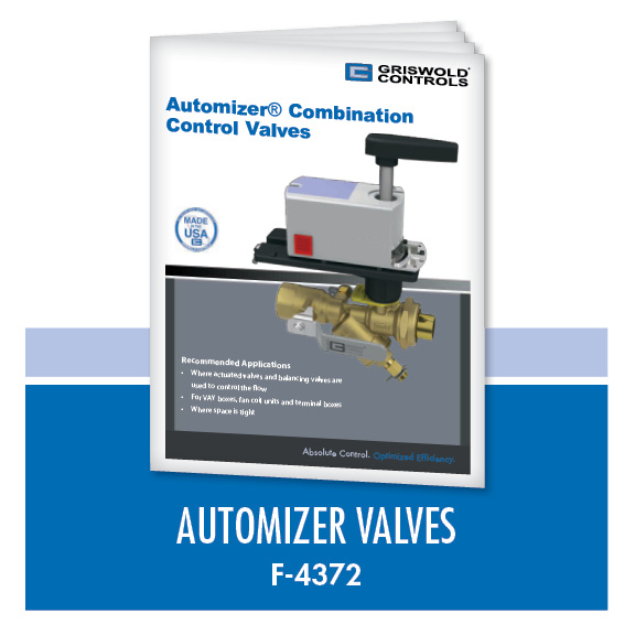 Marketing / Automizer Combination Control Valves (F-4372)