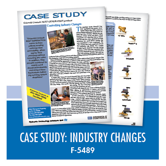 Marketing / Case Study: Controlling Industry Changes (F-5489)