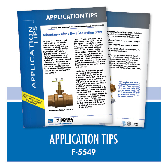 Marketing / Application Tips (F-5549)